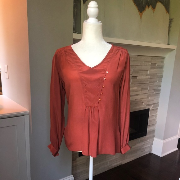 Anthropologie Tops - Anthropologie Long Sleeve Blouse